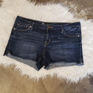 Denim shorts 12 blue Mossimo